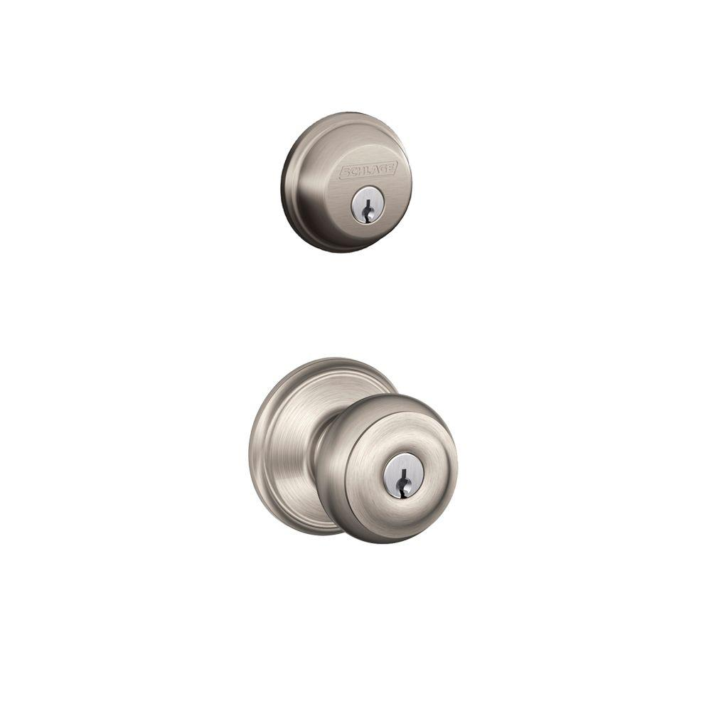 schlage door knob installation photo - 15