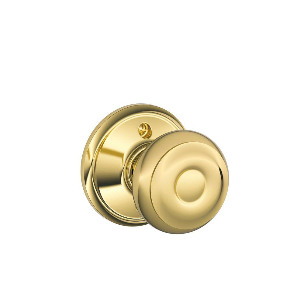 schlage georgian door knob photo - 11