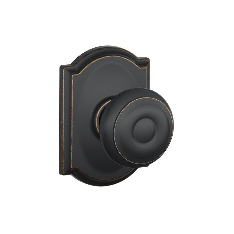 schlage georgian door knob photo - 12