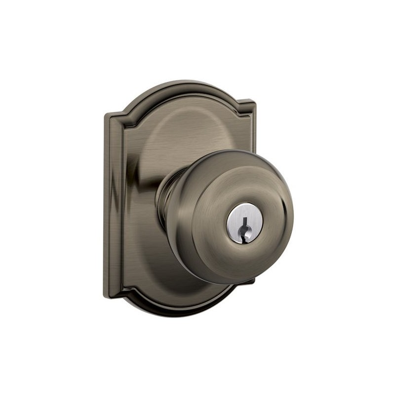 schlage georgian door knob photo - 15