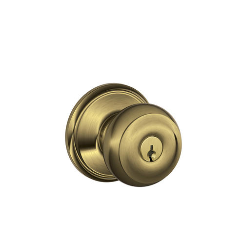 schlage georgian door knob photo - 17