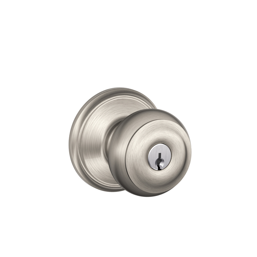 schlage georgian door knob photo - 6