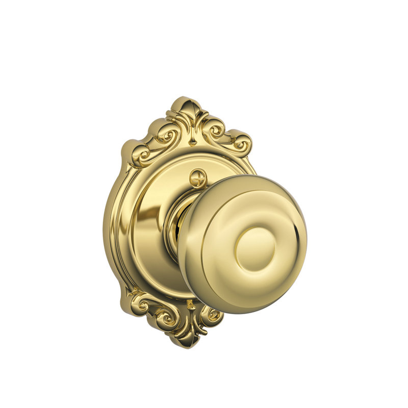 schlage georgian door knob photo - 9