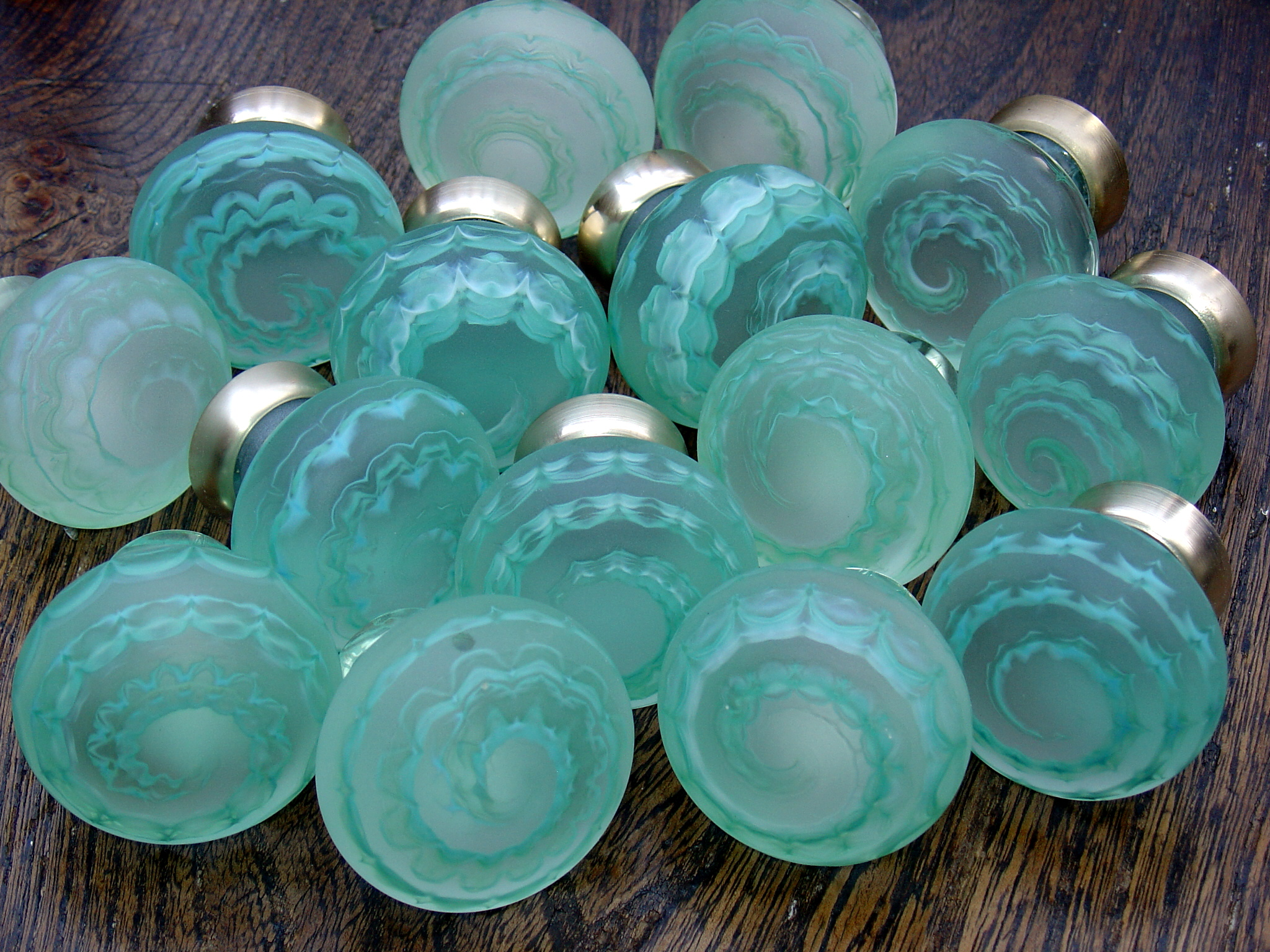 sea glass door knobs photo - 1