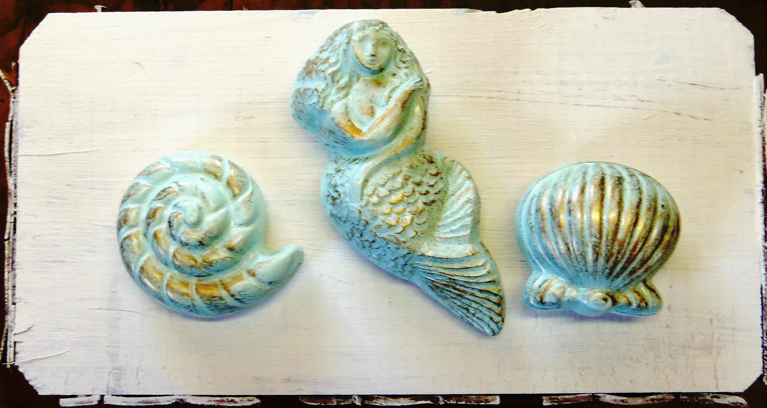 seashell door knobs photo - 12