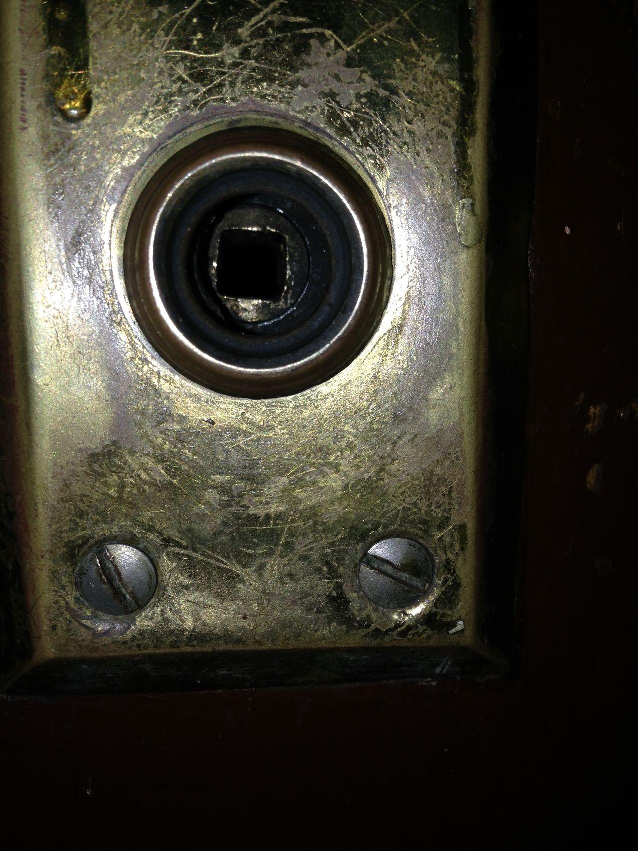 self locking door knobs photo - 5