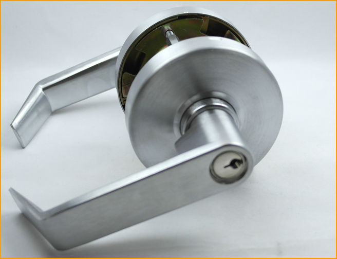 self locking door knobs photo - 6