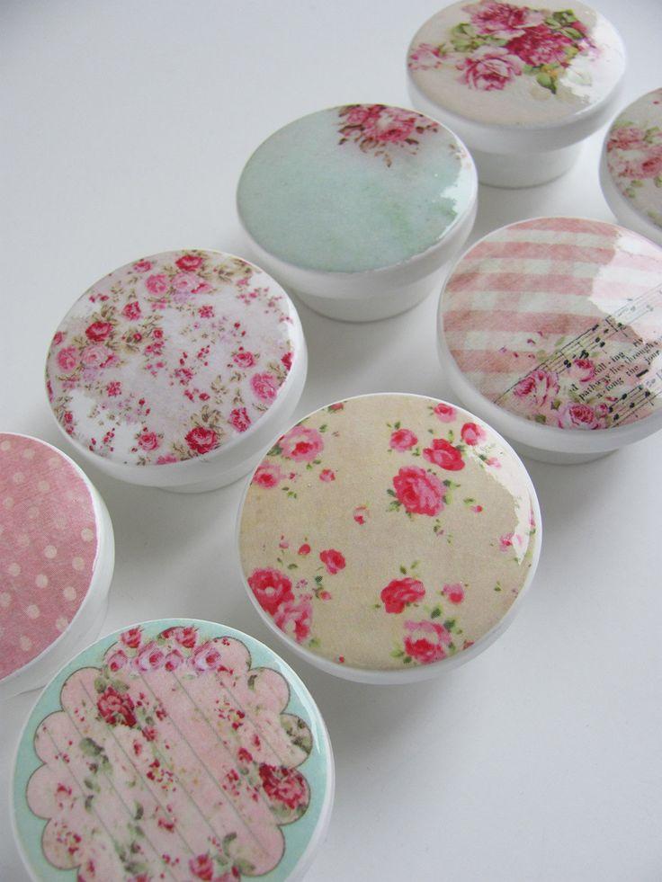 shabby chic door knobs photo - 1