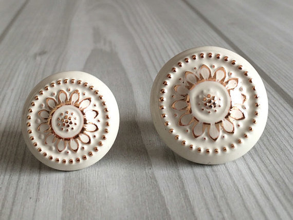 shabby chic door knobs photo - 16