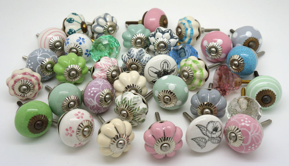 shabby chic door knobs photo - 7