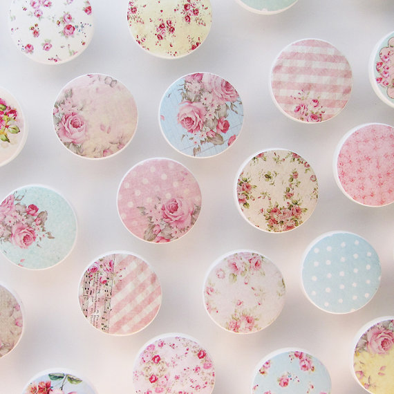 shabby chic door knobs photo - 8