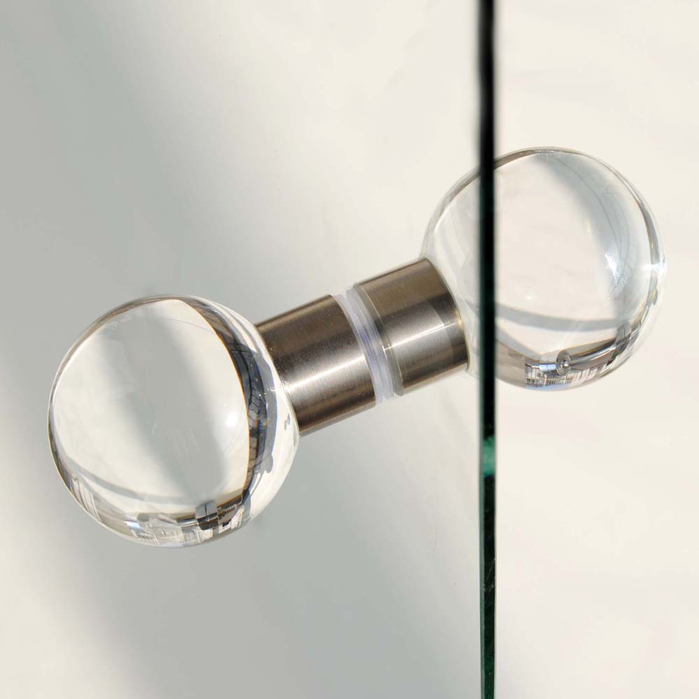 shower door knobs photo - 2