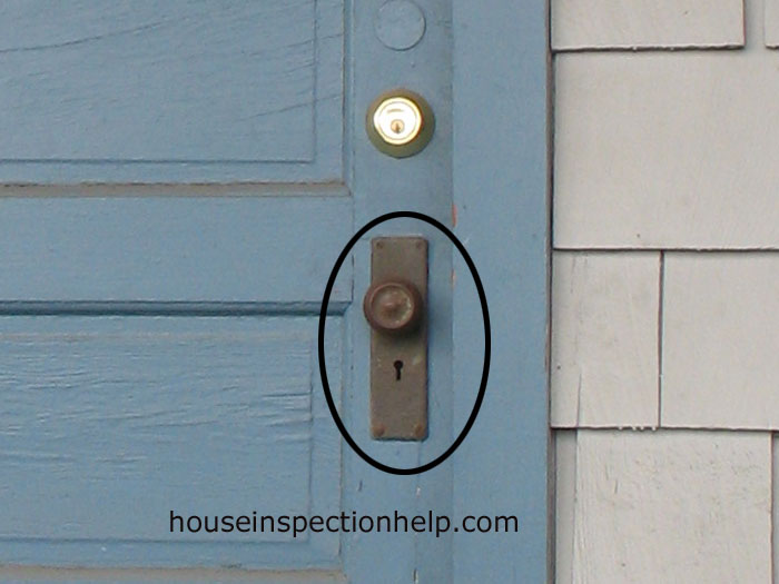 skeleton key door knob photo - 20