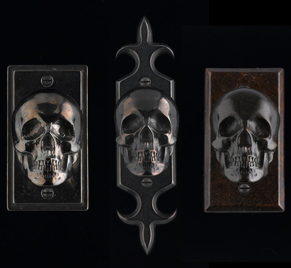 skull door knob photo - 12