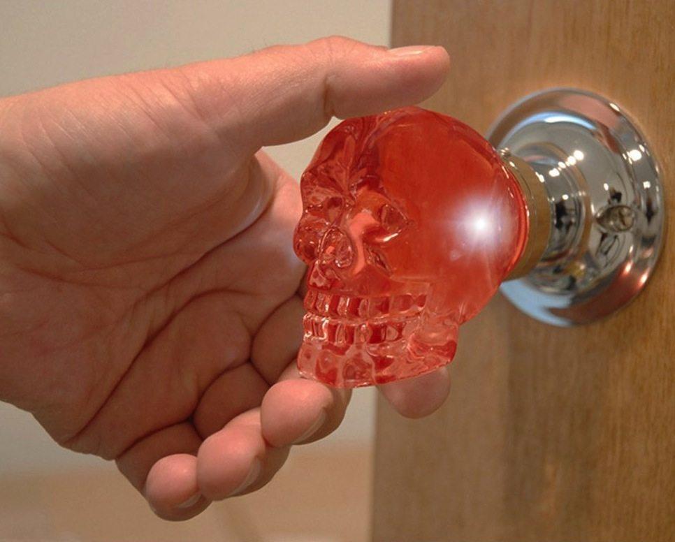 skull door knob photo - 15