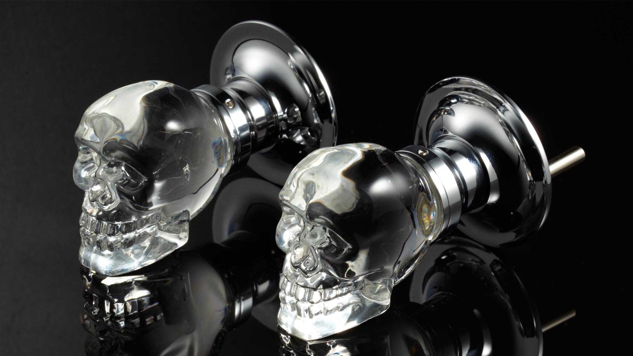 skull door knob photo - 5