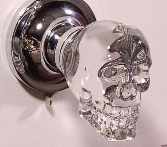 skull door knob photo - 6