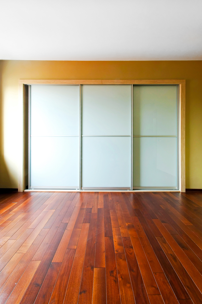 sliding closet door knobs photo - 13
