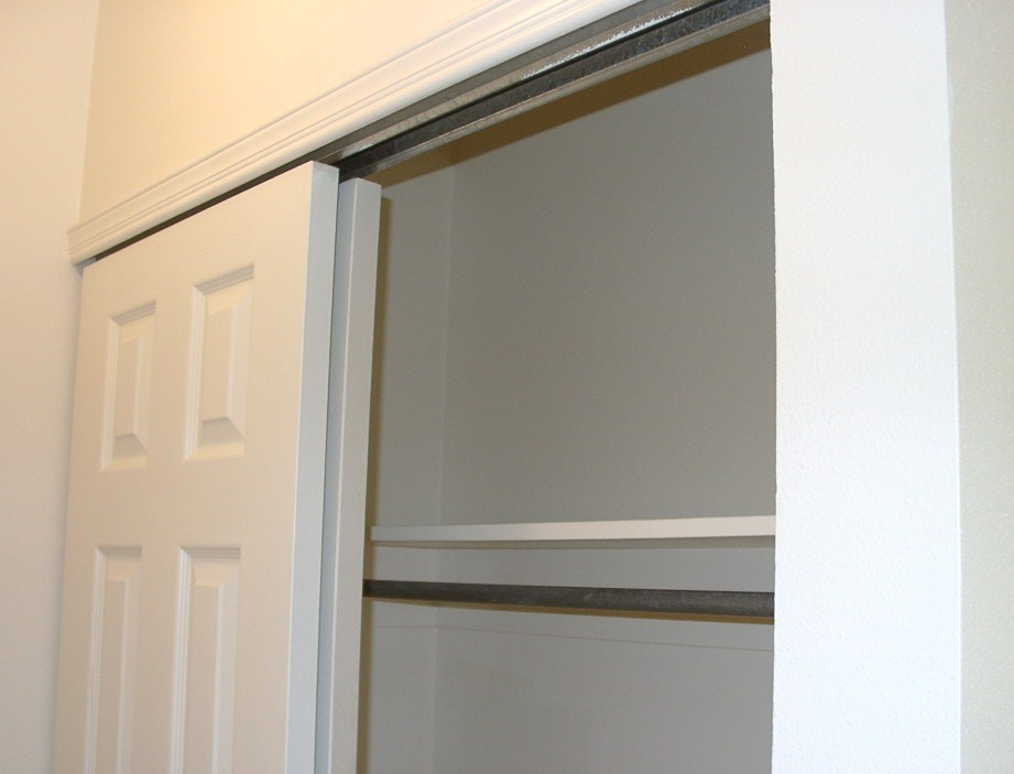 sliding closet door knobs photo - 20