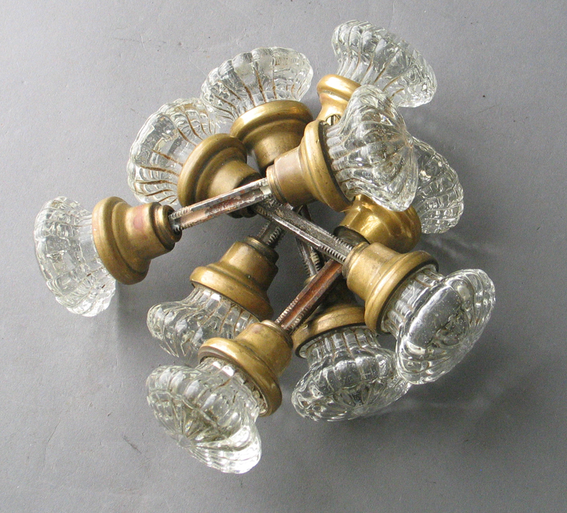 small glass door knobs photo - 15