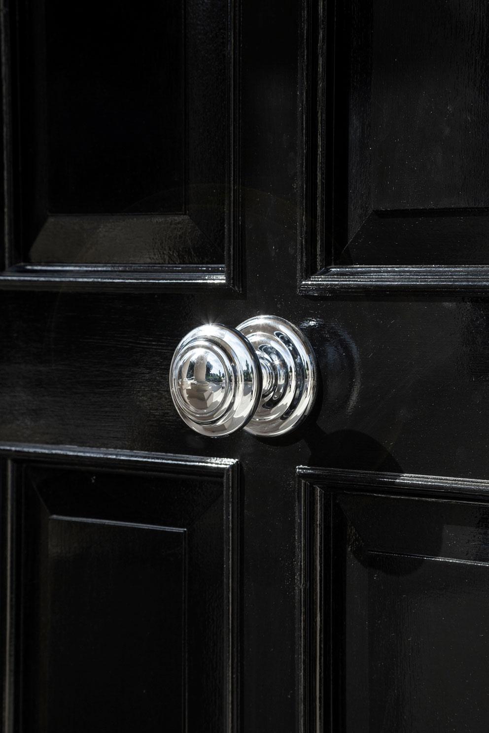 square door knob photo - 8