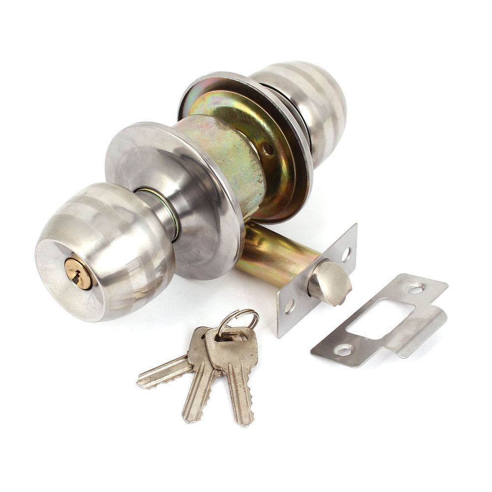 stainless door knobs photo - 10
