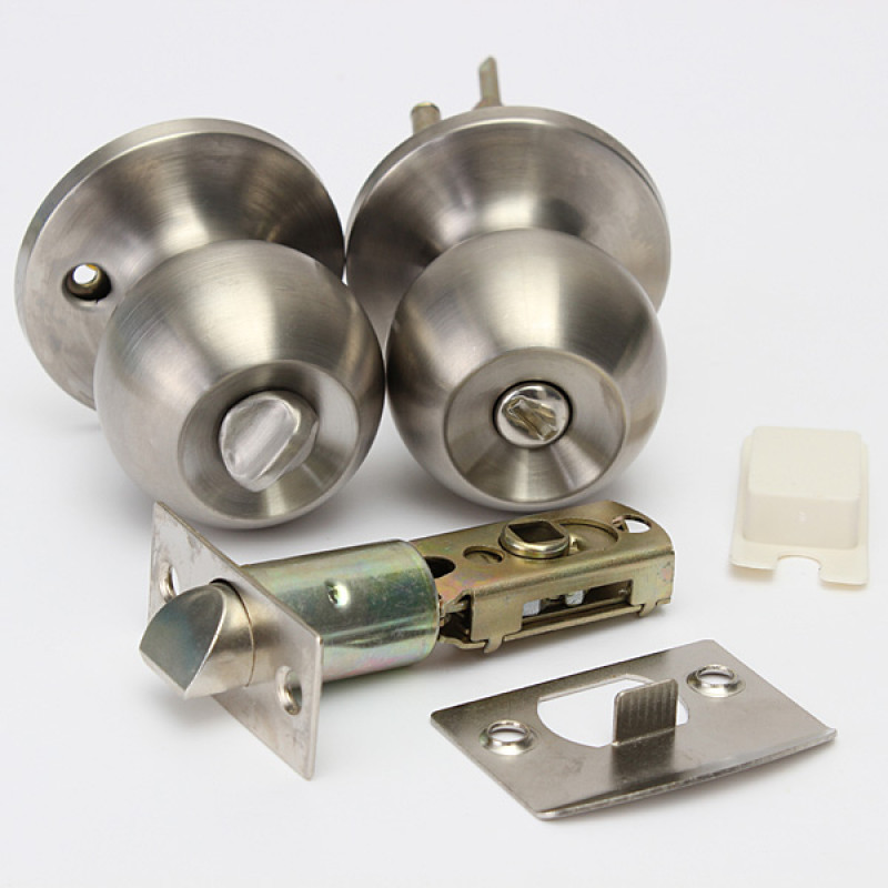 stainless door knobs photo - 19