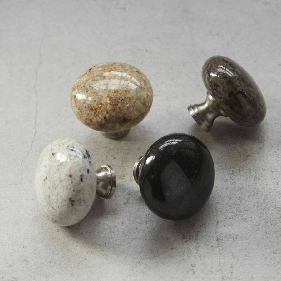 stone door knobs photo - 2
