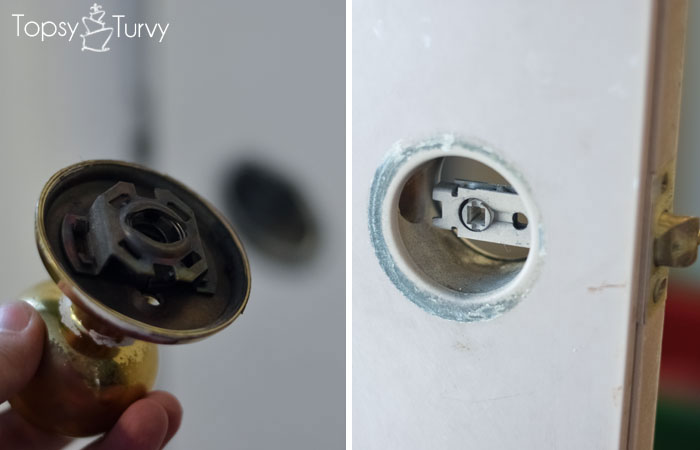 taking off a door knob photo - 15