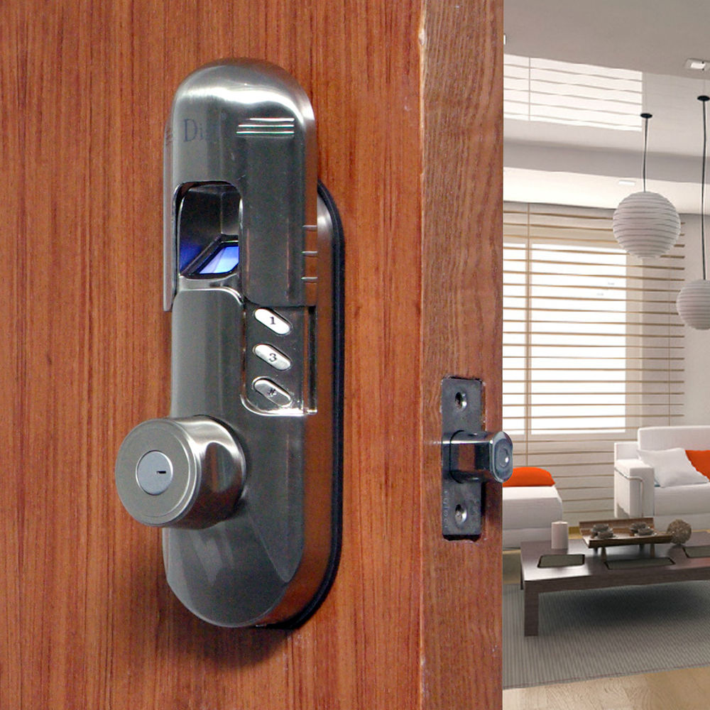 thumbprint door knob photo - 11