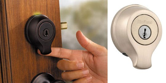 thumbprint door knob photo - 5