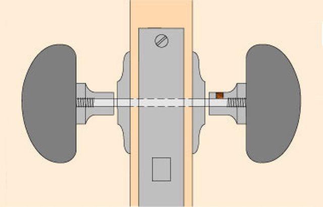 tighten door knob photo - 18