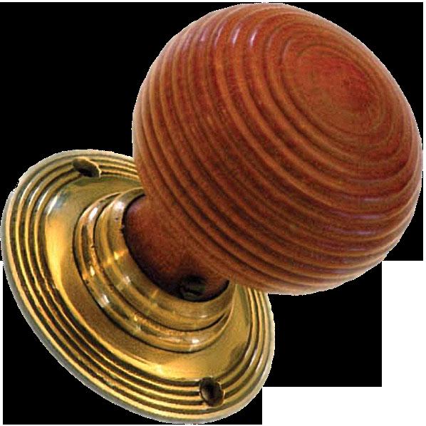 timber door knobs photo - 10
