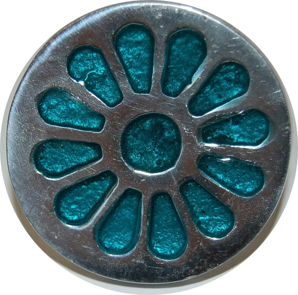 turquoise door knobs photo - 17