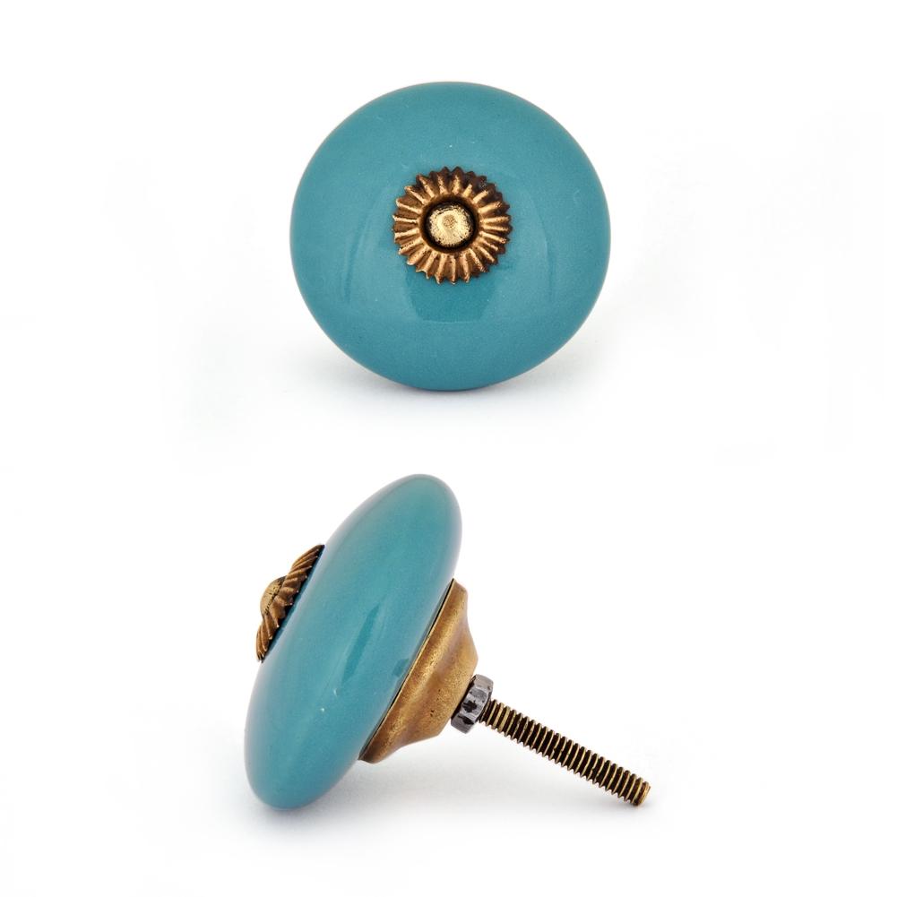 turquoise door knobs photo - 20