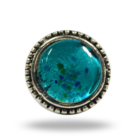 turquoise door knobs photo - 8