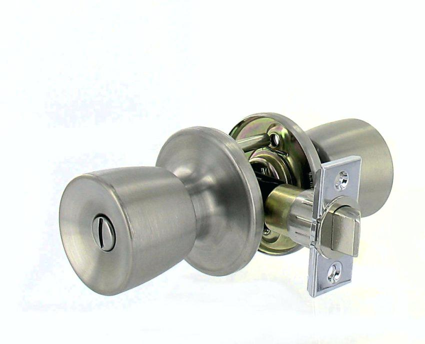 unlock door knob without key photo - 1