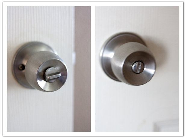 unlock door knob without key photo - 17