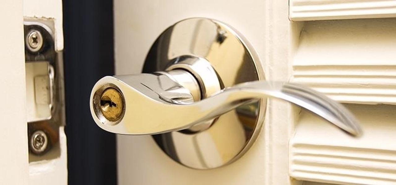 unlock door knob without key photo - 18