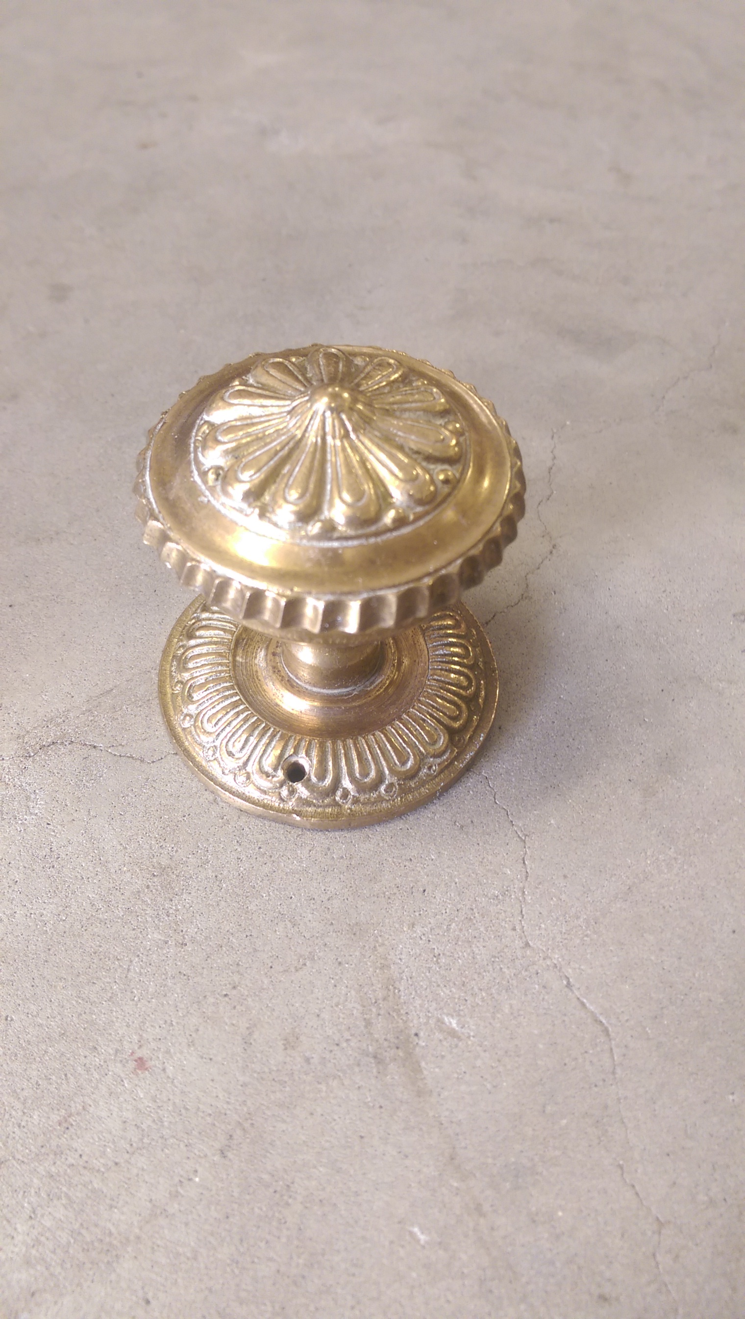 victorian brass door knobs photo - 19
