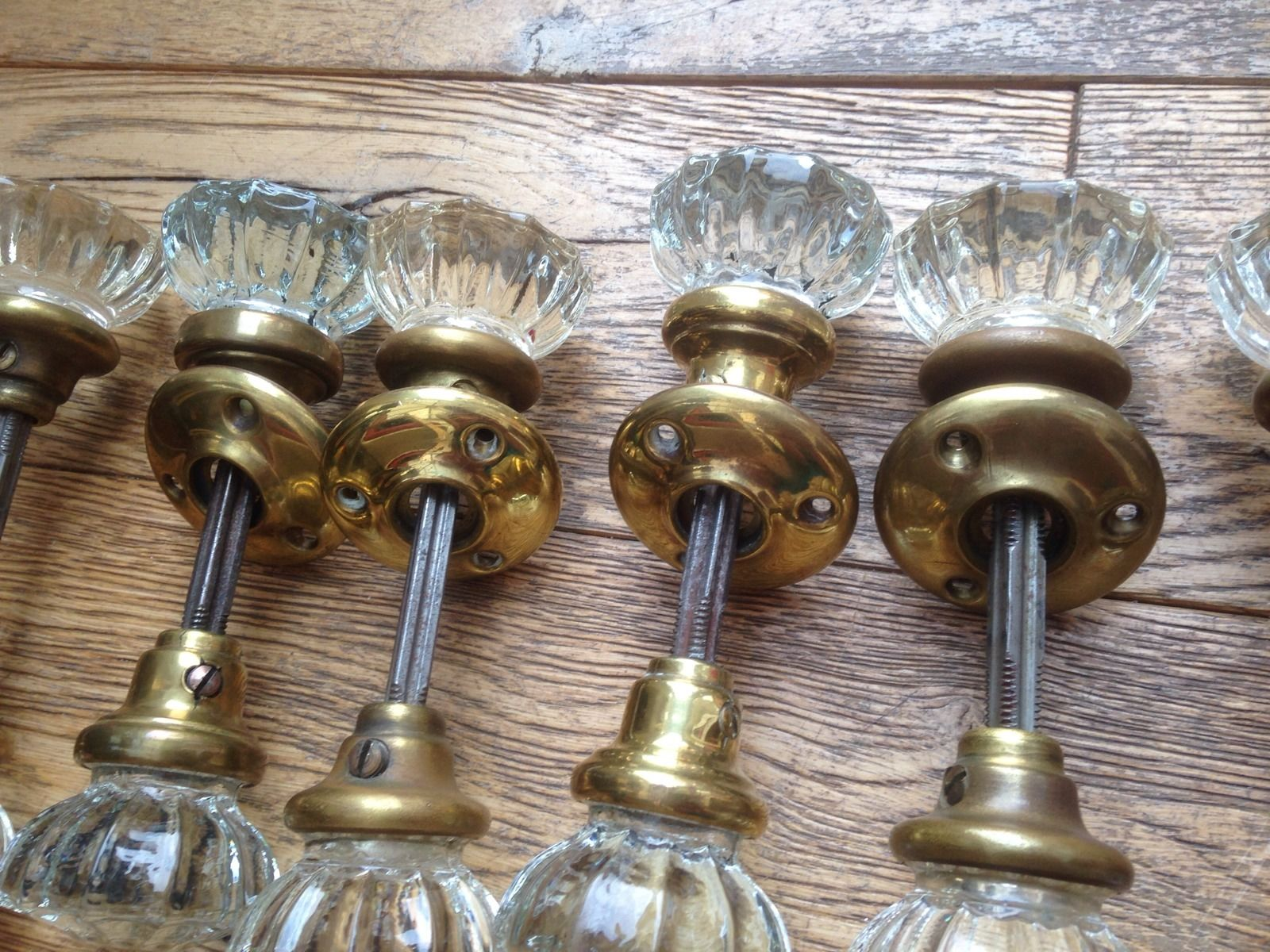victorian glass door knobs photo - 16