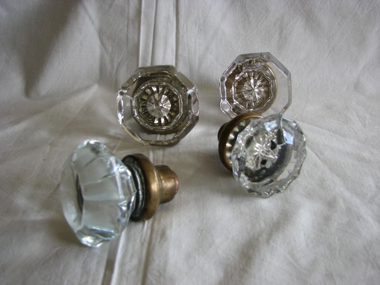 Victorian Glass Door Knobs Photo   2