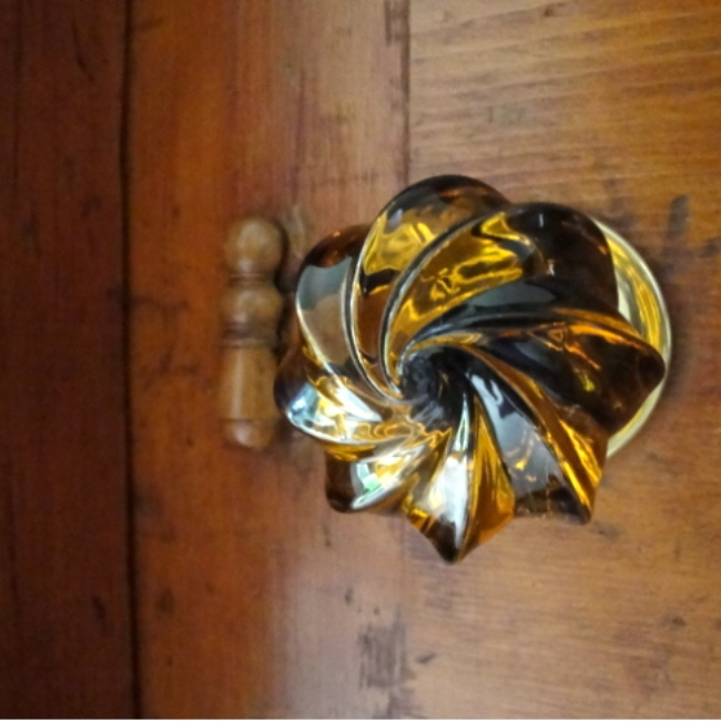 victorian glass door knobs photo - 9