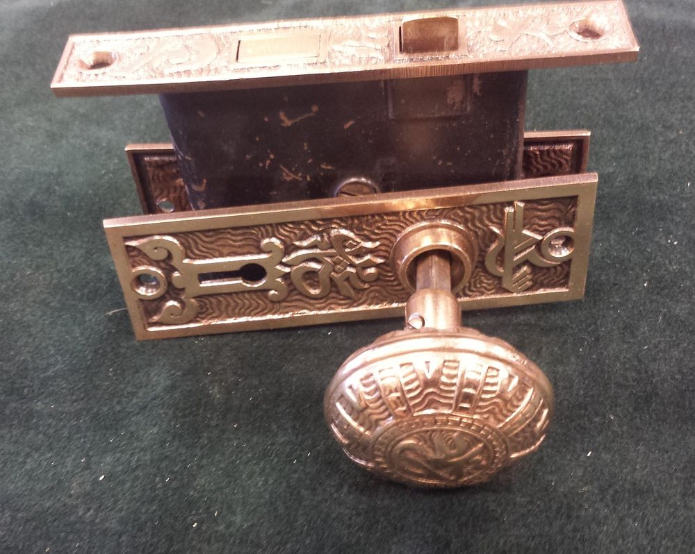 vintage door knob backplates photo - 20