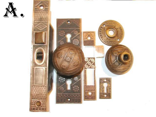 vintage door knob sets photo - 19