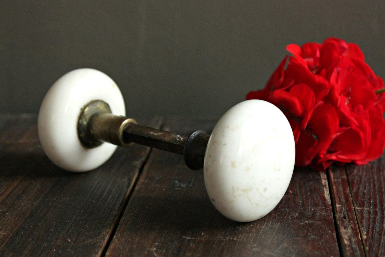 vintage porcelain door knobs photo - 11