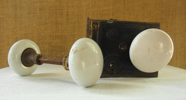 vintage porcelain door knobs photo - 20