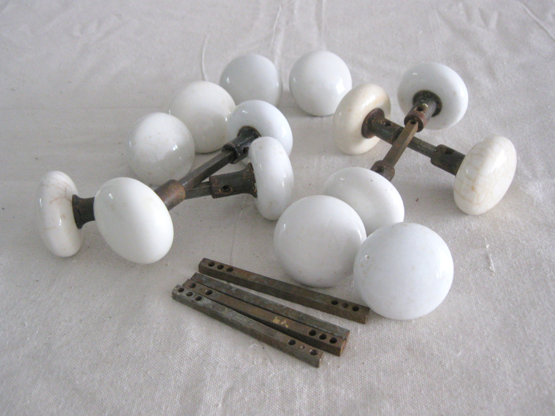 vintage porcelain door knobs photo - 5