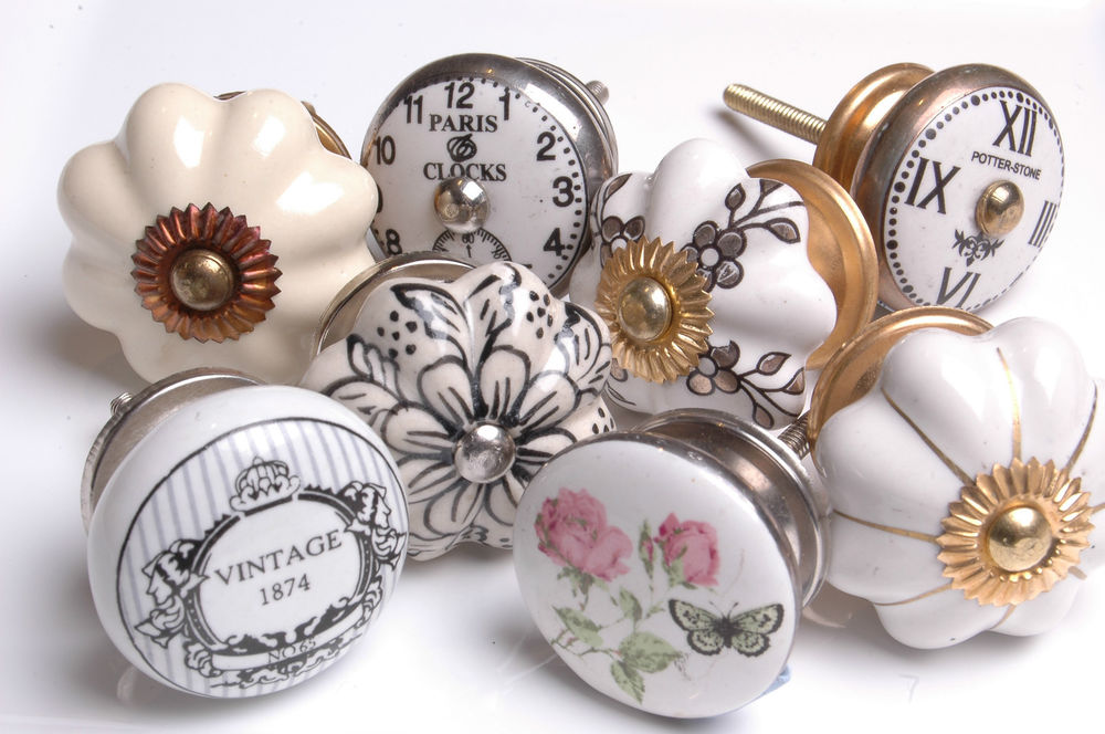 vintage style door knobs photo - 4