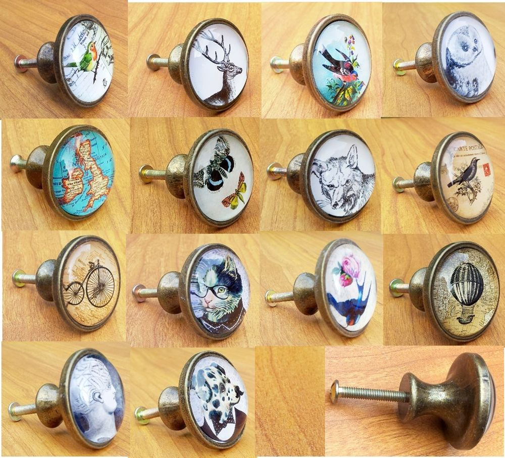 vintage style door knobs photo - 6